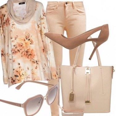 Outfit Primavera in rosa pesca!