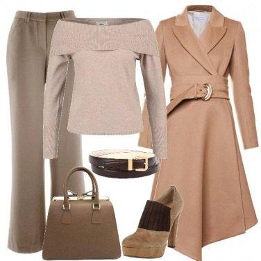 Outfit La classe del beige