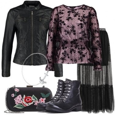 Outfit Rock delicato