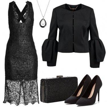 Outfit Una diva in nero