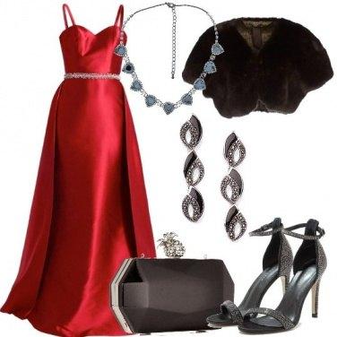 Outfit Diva da red carpet