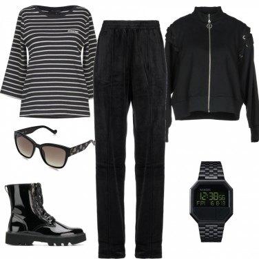 Come abbinare il pantalone con bande laterali: 897 Outfit