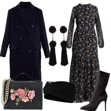 Outfit Rinascimentale in nero
