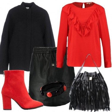 Outfit Con grinta di giorno