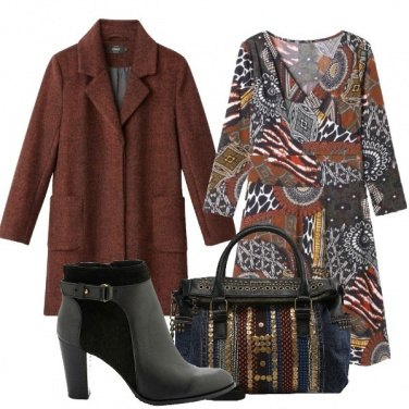 Outfit La borsa a bauletto