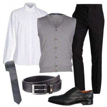 Outfit La cravatta in seta