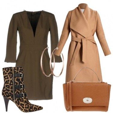 Outfit Stivaletto leopardato