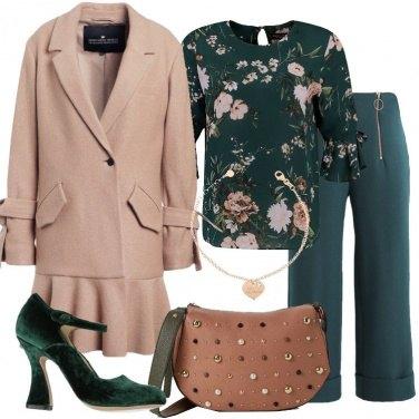 Outfit Il cappotto in pura lana