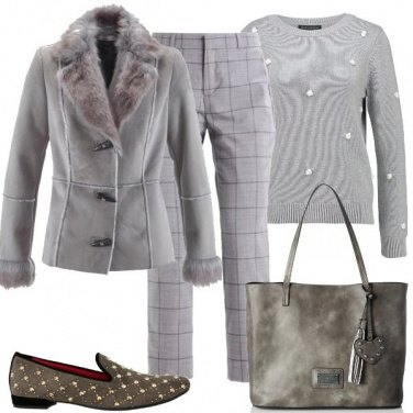 Outfit Tutta grigia