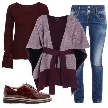 Outfit Mantella e jeans