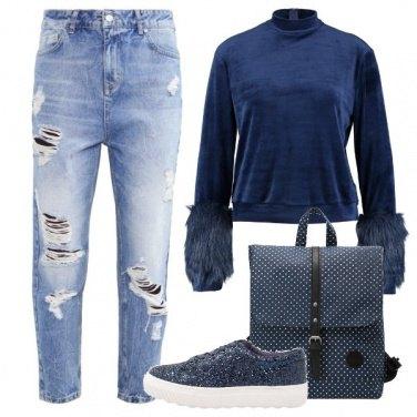 Outfit Baggy e dettagli peluche