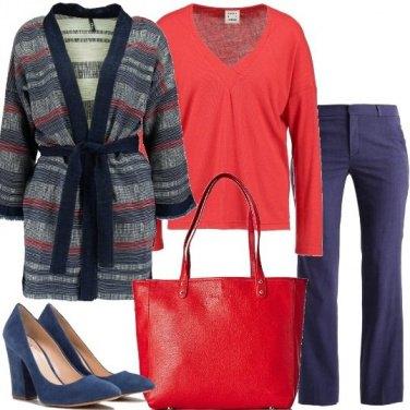 Outfit Pantalone misto lana
