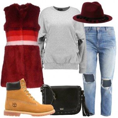 Outfit Toni del rosso