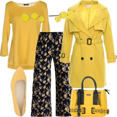 Outfit Tutte le sfumature di giallo