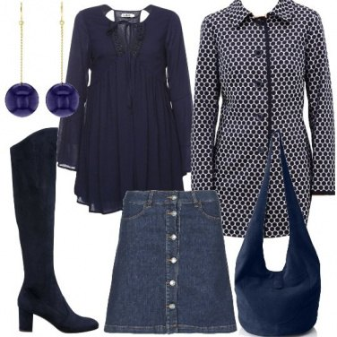 Outfit Allegro blu