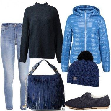 Outfit Oggi mi vesto di blu