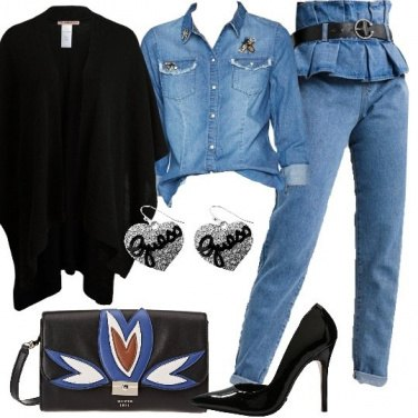 Outfit Fashion in denim