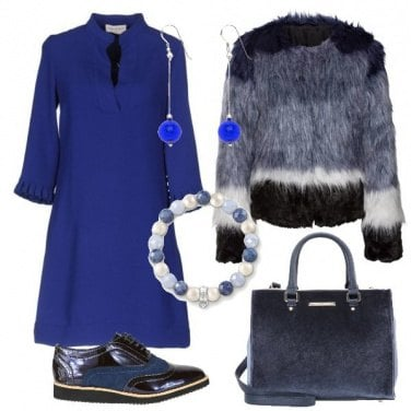Outfit Il blu e le sue sfumature