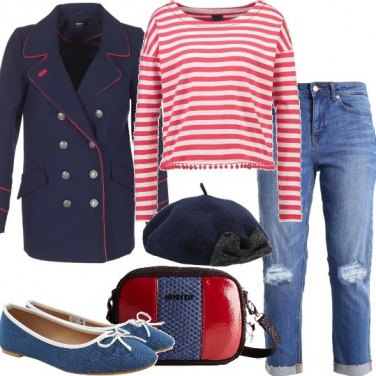 Outfit La tracollina bicolore