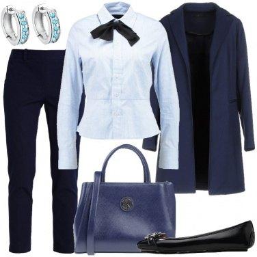 Outfit Cristalli azzurri