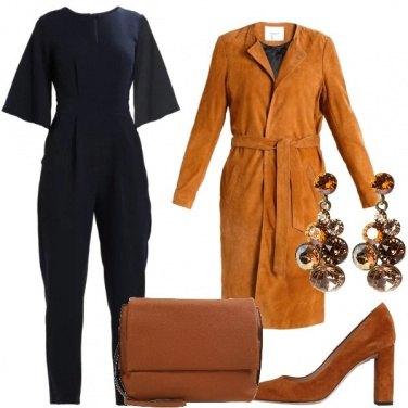 Outfit La jumpsuit ed il trench