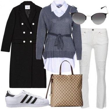 Outfit Cappotto nero
