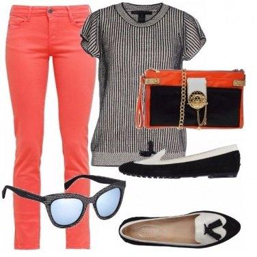 Outfit Arancio di classe! set lux