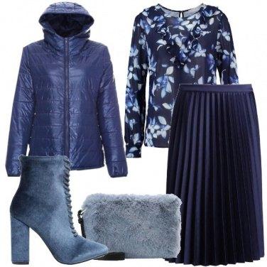 Outfit Indossando i toni blu