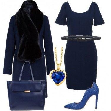 Outfit Completamente blu