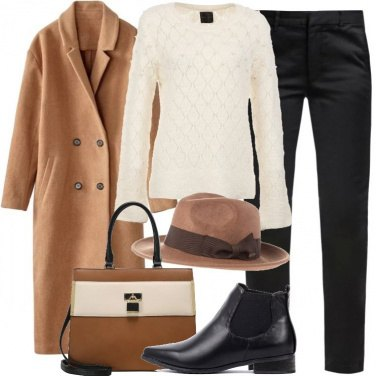 Outfit Cappello in lana firmato
