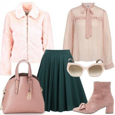 Outfit Giornate in rosa