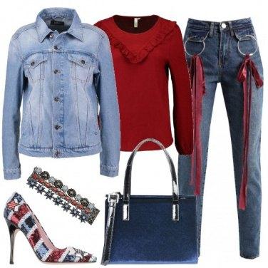 Outfit Il jeans che non ti aspetti