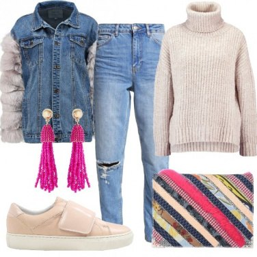 Outfit La giacca particolare in Jeans