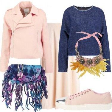 Outfit Frange denim