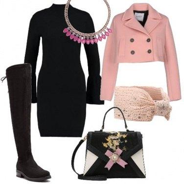 Outfit Il tocco delicato del rosa