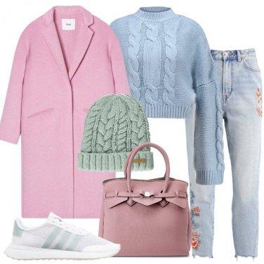 Outfit Teneri colori pastello