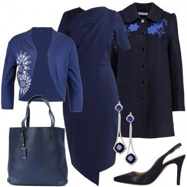 Outfit Ufficio blu