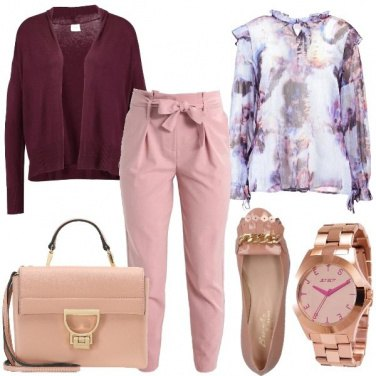 Outfit Rosa supremo