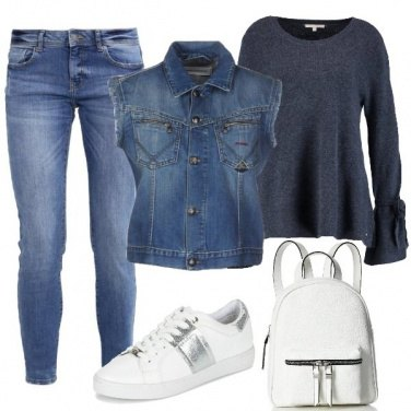 Outfit Demin mania