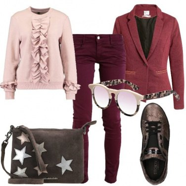 Outfit Rouches e stelle