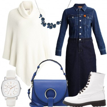 Outfit Il vestito di jeans