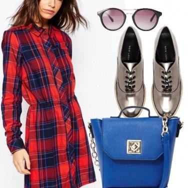 Outfit Moda a quadri