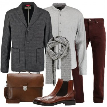 Outfit Giacca antracite