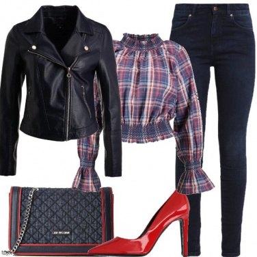 Outfit La borsa a tracolla in denim