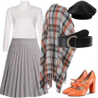 Outfit Sovrapposizioni a quadri bon ton