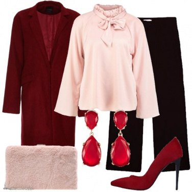 Outfit La pochette rosa