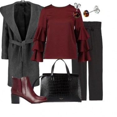 Outfit La blusa con i volants