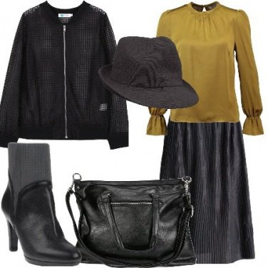 Outfit Gonna e cappello