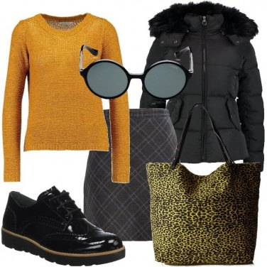 Outfit Energia in giallo