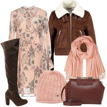 Outfit Romanticamente in rosa